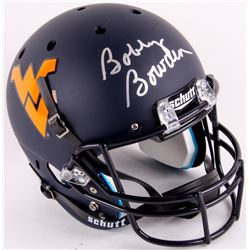 Bobby Bowden Signed West Virginia Mountaineers Full-Size Helmet Inscribed (JSA COA)
