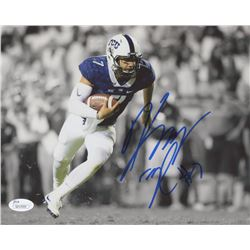 Kenny Hill Signed TCU Horned Frogs 8x10 Photo (JSA COA)