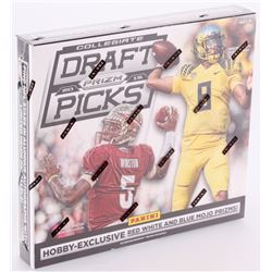 2015 Panini Prizm Collegiate Draft Picks Unopened Football Hobby Box of (12) Packs