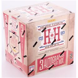 2013 Panini Hometown Heroes Unopened Hobby Box with (12) Packs