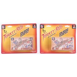Lot of (2) 2014 Topps Turkey Red Football Box