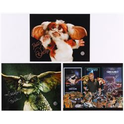 "Lot of (3) Mark Dodson Signed 8x10 Photos Inscribed ""The Gremlins!""  ""Keep Laughin'!"" (Legends COA)"