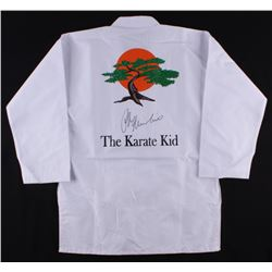 "Ralph Macchio Signed ""Karate Kid"" Karate Uniform Jacket (JSA COA)"
