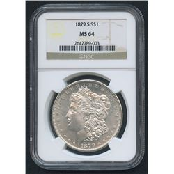 1883-CC Morgan Silver Dollar (NGC MS 64)