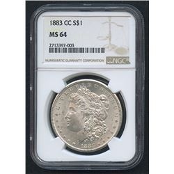 1879-S Morgan Silver Dollar (NGC MS 64)