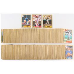 1987 Topps Complete Set of (792) Baseball Cards with #648 Barry Larkin RC, #170 Bo Jackson RC, #320