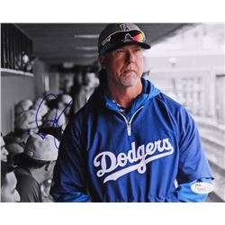 Mark McGwire Signed Dodgers 8x10 Photo (JSA COA)
