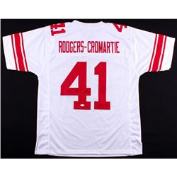 Dominique Rodgers-Cromartie Signed Giants Jersey (JSA COA)