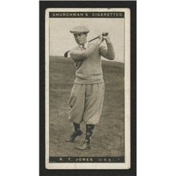 1927 Churchman's Famous Golfers Small #28 Bobby Jones
