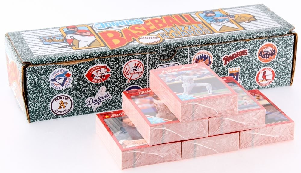 1990 Donruss Complete Set Of 759 Baseball Puzzle Cards
