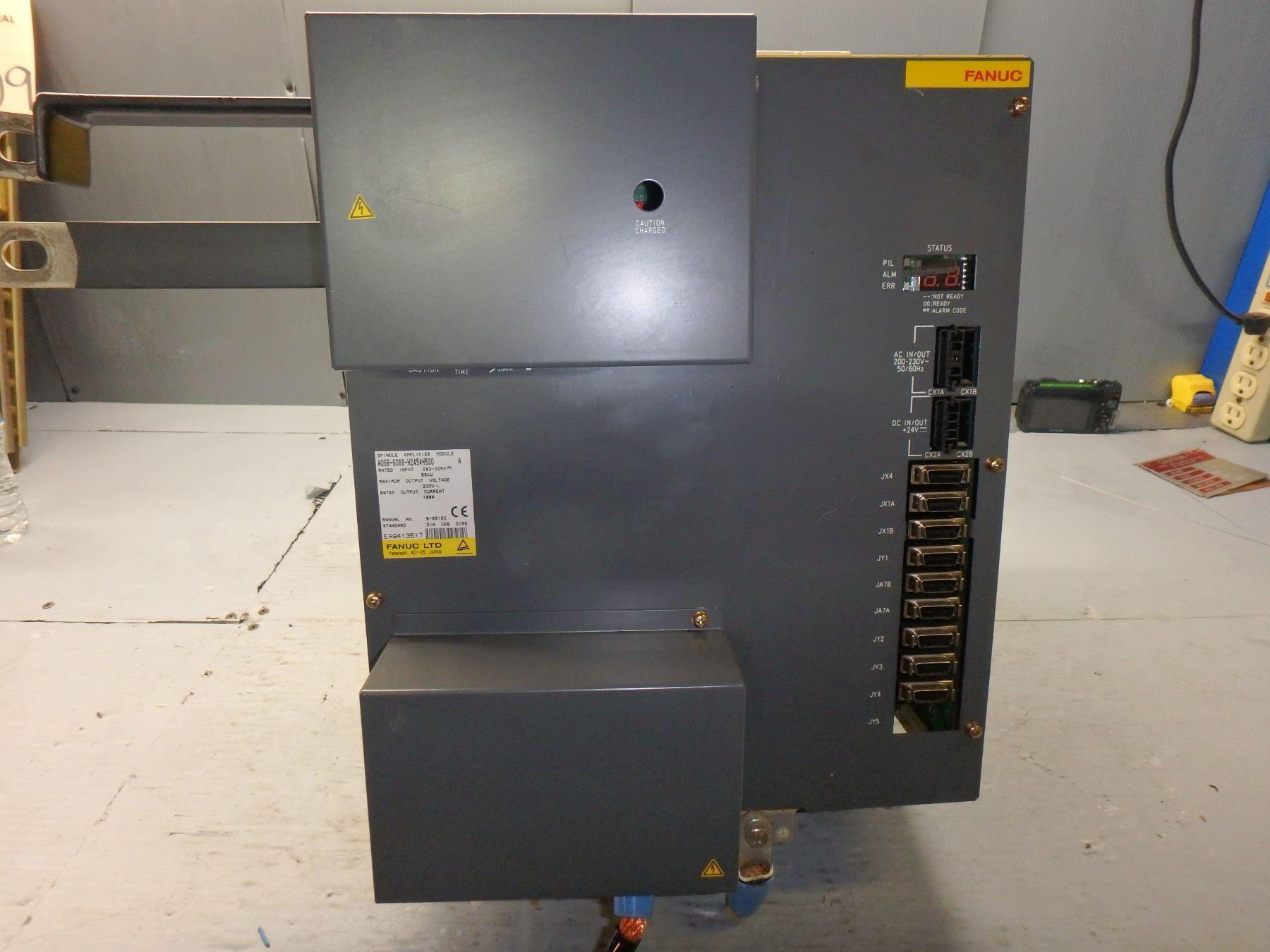 FANUC A06B-6088-H245#H500 POWER SUPPLY MODULE
