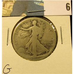 1916 D Walking Liberty Half Dollar, G.