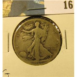 1919 P Walking Liberty Half Dollar, G.