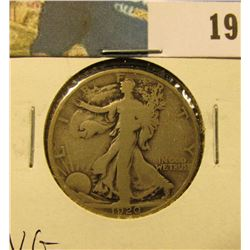 1920 P Walking Liberty Half Dollar, VG.