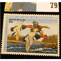 1987 RW54 U.S. Federal Migratory Waterfowl Stamps, Unused, OG, NH. EF.