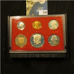 1982 S Deep Mirror Cameo U.S. Proof Set with special Mint Medal. Original as issued.