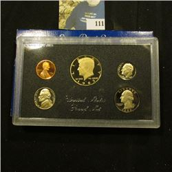 1983 S Deep Mirror Cameo U.S. Proof Set. Original as issued. Five-piece Set.