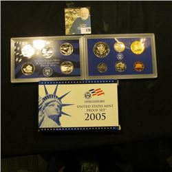 2005 S Deep Mirror Cameo U.S. Proof Set. Original as issued. Eleven-piece Set.