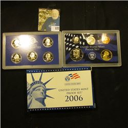 2006 S Deep Mirror Cameo U.S. Proof Set. Original as issued. Ten-piece Set.