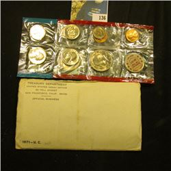 1971 U.S. Mint Set in original envelope as issued.