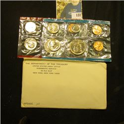 1972 U.S. Mint Set in original envelope as issued.