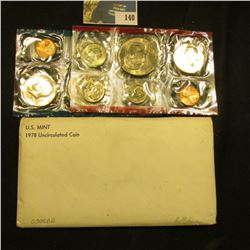 1978 U.S. Mint Set in original envelope as issued.