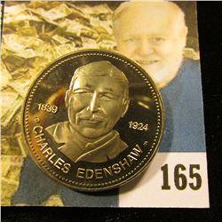 1839 1924 Charles Edenshaw British Columbia 1977 Haida Dollar, Gem BU.