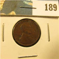 1922 D U.S. Lincoln Cent, Fine.