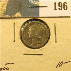 1926 S Mercury Dime. Key date.