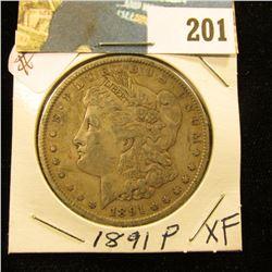 1891 P Morgan $ - XF