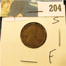 1915 S Lincoln Cent - Fine