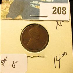 1916 D Lincoln Cent - XF+