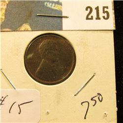 1910 Lincoln Cent - AU BN