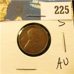 1919 S Lincoln Cent - AU