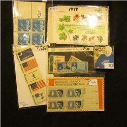Stamps - Scott #1757, CIPEX, Scott # 1113-1116 Lincoln Commems,Scott # 1345-1354 Historic Flags set,