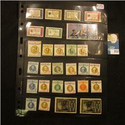 Stamps - Scott # 1139-1144  Set of 6 American Credo Issue mint, Scott # 1629-1631 set of 3 Spirit of