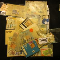 Big batch of cancelled foreign stamps from around the world