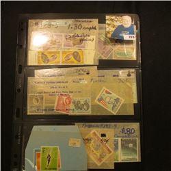 Mint Condition Foreign Stamps, includes Canada, Ecuador, Korea, Argentina, Lithuania, Morocco & more