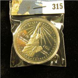 1776-1976 Statue of Liberty .999 Fine Silver Proof Commemorative American Revolution Bicentennial Me