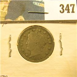 1883 NC U.S. Liberty Nickel, Fine.