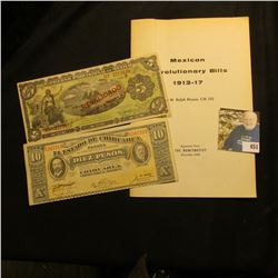 "Reprinted from The Numismatist December 1950 ""Mexican Revolutionary Bills 1913-17"" Booklet; Series 1"
