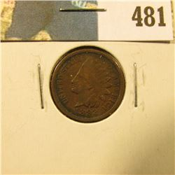 1892 U.S. Indian Head Cent, Full Liberty.
