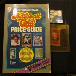"1987 copyright ""The Sport Americana Price Guide to the Non-Sports Cards"", soft bound, 534 pages; & a"