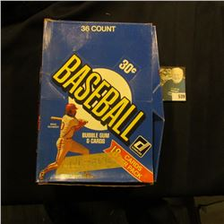 1991 Donruss Original Box with several hundred 1991 Donruss Baseball Cards nos. 141-269. None in ori