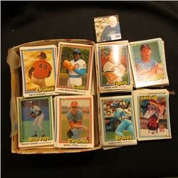 "Large group of 1981 Donruss ""First Edition Collector Series"" Baseball Cards. Must be 200-300 cards i"