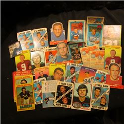 "Interesting group of Old Sports Cards including ""Wonder Bread"" Cards, Bazooka Ball Cards, & 3-D Supe"