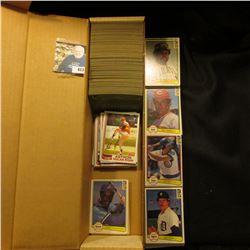 14  Card Stock Box over half full of 1982 Topps & Donruss Baseball cards.