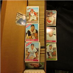 14  Card Stock Box nearly full of 1966 Topps Baseball cards.