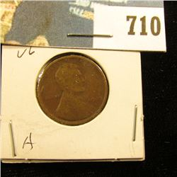 1909 P Lincoln Cent, VG.