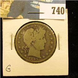 1895 P Barber Half Dollar, G.